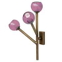 Бра Last Night Wall Lamp Pink designed by Damien Langlois-Meurinne Loft Concept 44.487-0