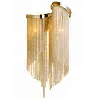 Бра Atlantis Chain Wall Lamp GOLD Loft Concept 44.618