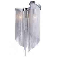 Бра Atlantis Chain Wall Lamp Black White Loft Concept 44.048