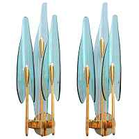 Бра Max Ingrand for Fontana Arte Sconces designed by Max Ingrand Loft Concept 44.419-0
