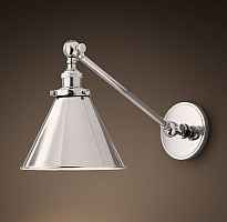 Бра 20TH C Library Single Sconce silver Loft Concept 44.147