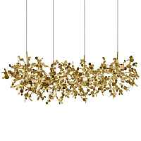 Люстра Terzani Argent Suspension Linear Gold Loft Concept 40.2060