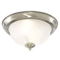 Потолочный светильник Flush Mount Ceiling Light milky glass Loft Concept 48.021