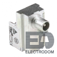 Fede Through + DC between IN and OUT with isolated IEC male connector (3dB) FD506F/3 - цена и фото