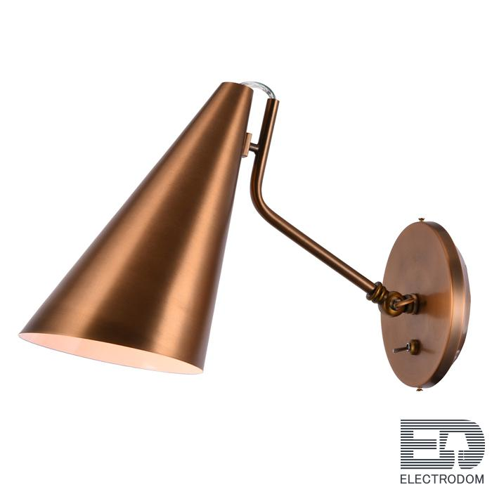 Бра VC light CLEMENTE wall lamp copper Loft Concept 44.472 - цена и фото