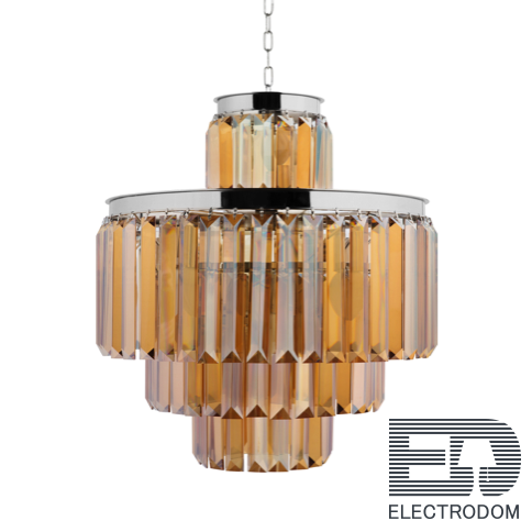 Люстра RH 1920s Odeon Smoke Chandelier 50/4 Loft Concept 40.2097 - цена и фото