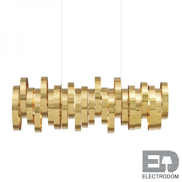 Люстра Brass Belts Chandelier Loft Concept 40.1041.MT.BL.T1B - цена и фото