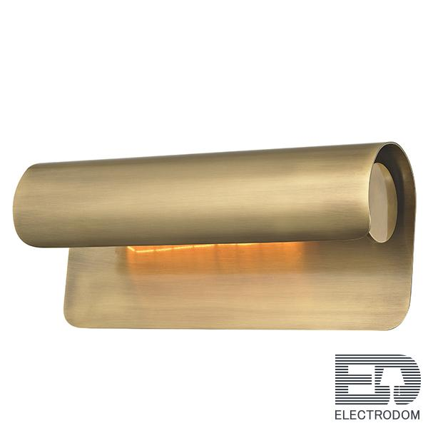 Бра Hudson Valley 1513-AGB Accord 1 Light Wall Sconce In Aged Brass Loft Concept 44.655 - цена и фото