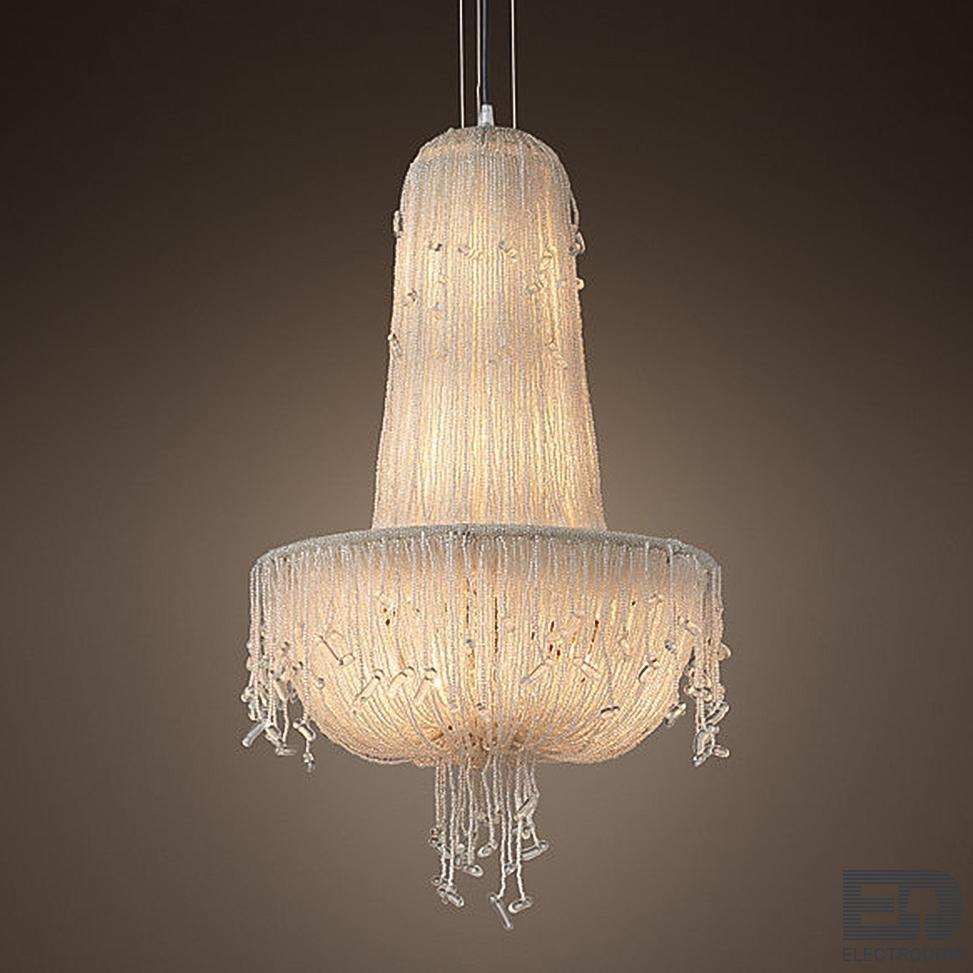 Люстра RH 1930S FRENCH CRYSTAL BEADED Chandelier Loft Concept 40.2055 - цена и фото